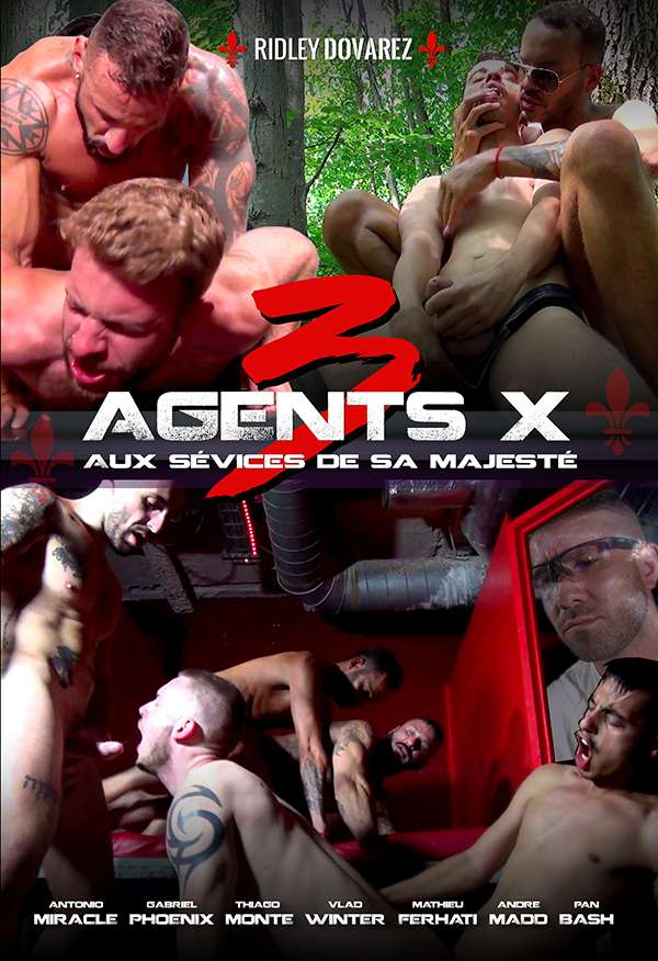 AGENTS X 3 - Her Majesty's Abuse | Full movie