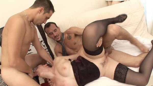 This gay couple prefer their horny neighbor girl to their neighbor guy