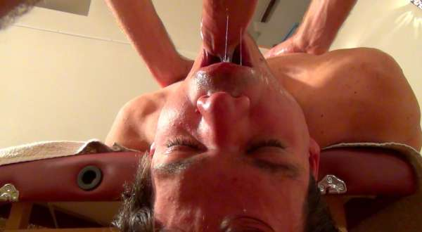 Tantrik massage of a young Italian twink
